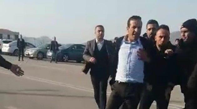 Gevrek'e maç sonu saldırı girişimi