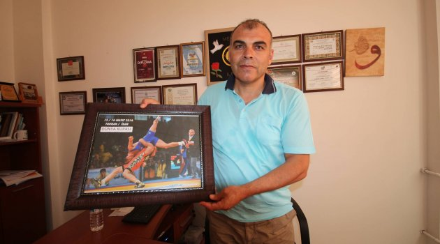 Güreş hakemi Ilkım Dünya Şampiyonası'nda görev yapacak