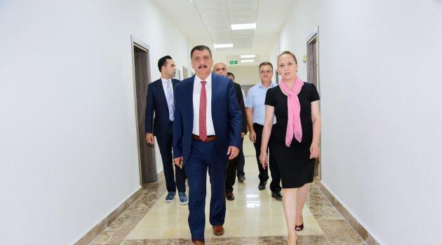 Gürkan'dan Eksilmez'e ziyaret