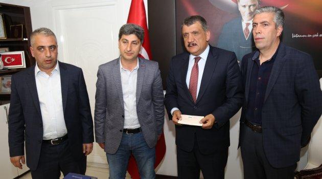 Gürkan'dan EYMS'ye 200 bin TL'lik destek