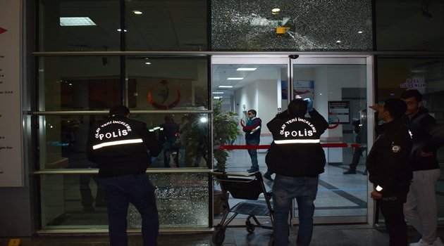 Hastanede silahlı çatışma: 6 gözaltı