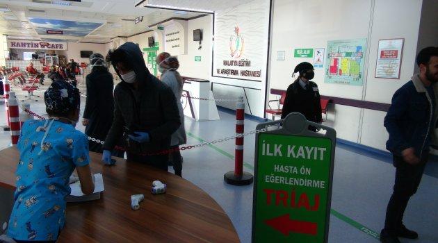 Hastaneler korona virüs için donatıldı