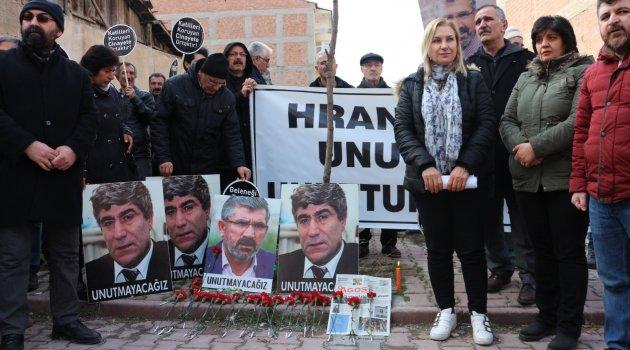 Hrant Dink için anma töreni!
