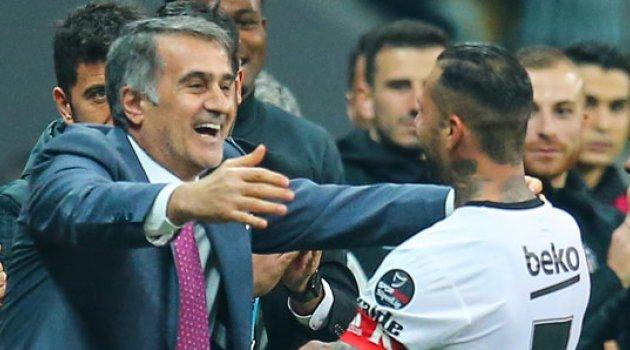 İkinci yarının lideri Beşiktaş