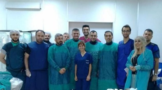 İlk kez kapalı kalp ameliyatı yapıldı