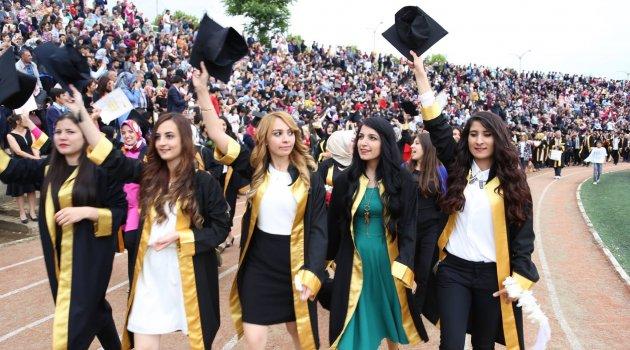 İnönü Üniversitesi Bu Yıl 8 Bin 100 Mezun Verdi