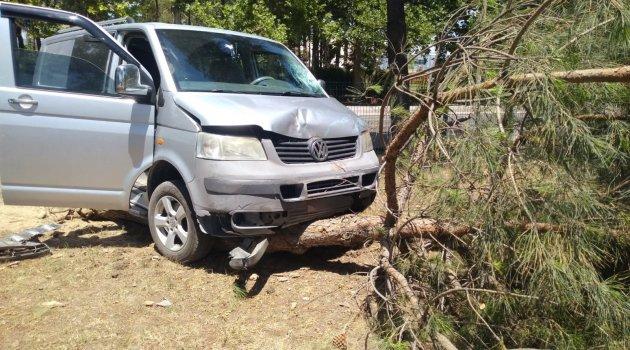 Isparta'da kaza: 4 yaralı