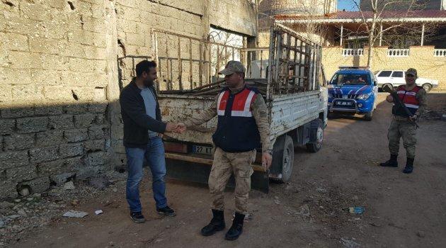Jandarma ekipleri hırsızlara göz açtırmıyor