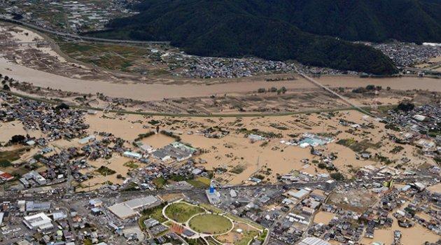 Japonya'daki tayfunda ölü sayısı 18'e yükseldi