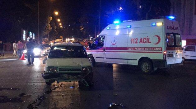 Kahramanmaraş'ta trafik kaza : 3 yaralı