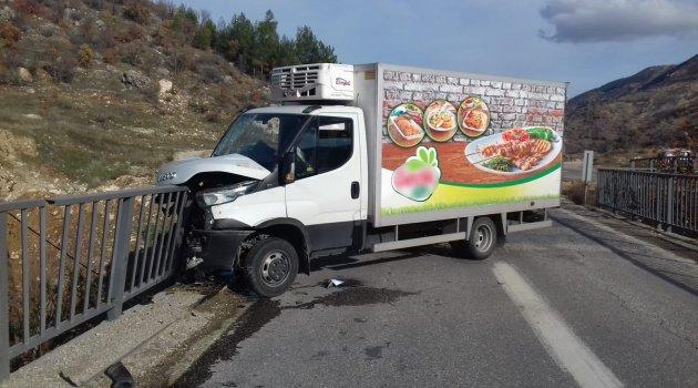 Malatya yolunda kaza