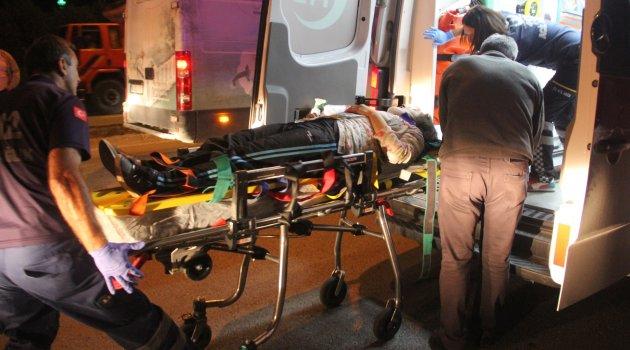 Kamyonun çarptığı genç kız yaralandı