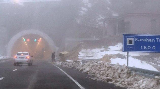 Karahan Tüneli açılıyor