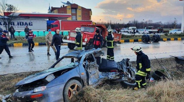 Kastamonu'da üç komando askeri, kazada hayatını kaybetti