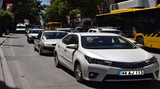 Kent merkezi trafiğe kapatılıyor!