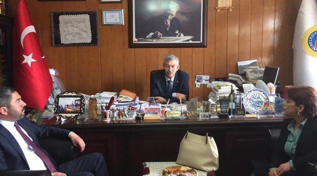 Kiraz'dan Cömertoğlu'na ziyaret