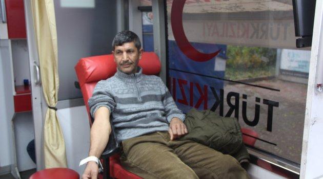 Kış aylarında kan bağışı azaldı