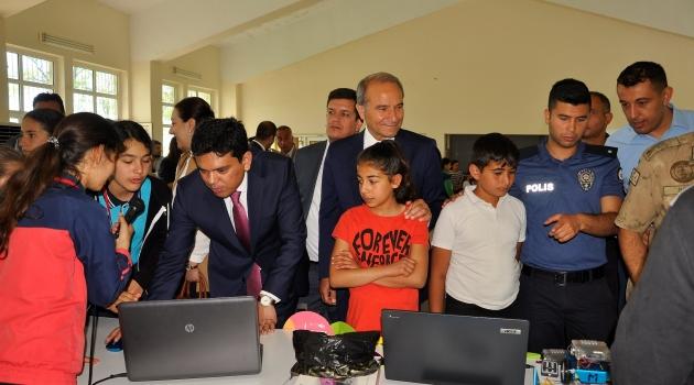 Arguvan'da robotik kodlama şenliği