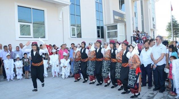 Darende'de Güreş Festivali başladı