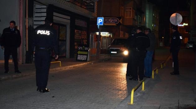 Polisten pompalı alarmı
