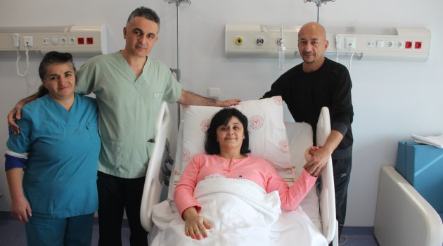 Malatya'da sağlığına kavuştu