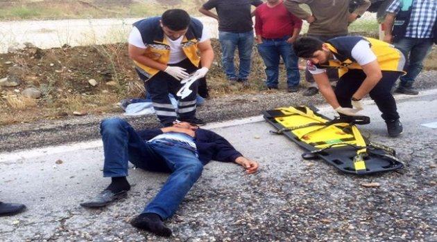 Malatya-Sivas Karayolu'nda Kaza: 2 Yaralı