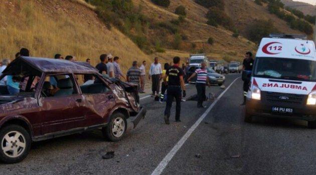 Malatya'da kaza: 3 ölü, 2 yaralı