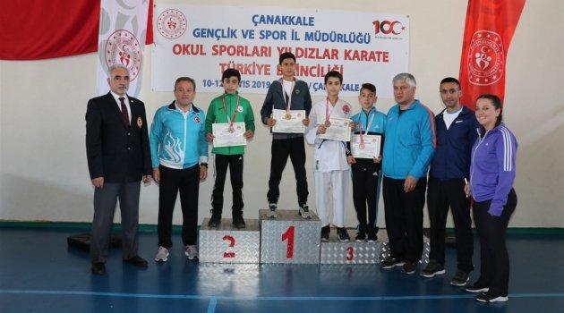 Malatyalı karateciler Türkiye üçüncüsü oldu