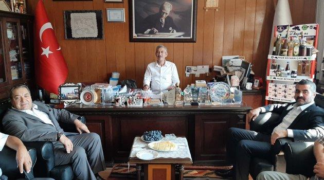 MHP'den Arapgir'e ziyaret