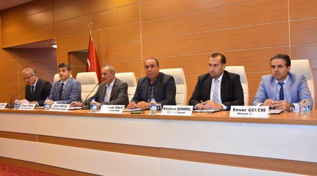 MTSO Eylül ayı meclis toplantısı yapıldı