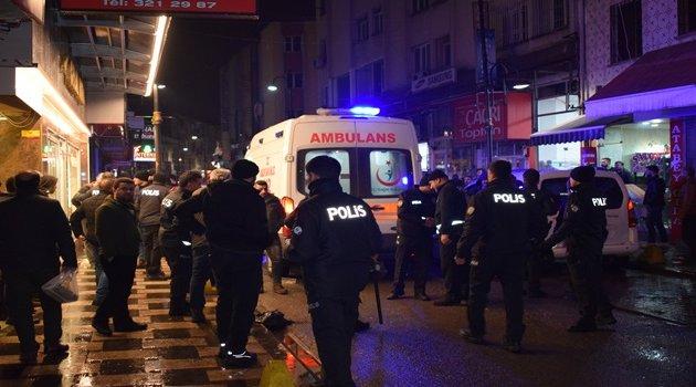 Muhtarlık kavgası : 10  yaralı 6 gözaltı