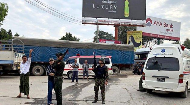 Myanmar'da çatışma: 19 ölü