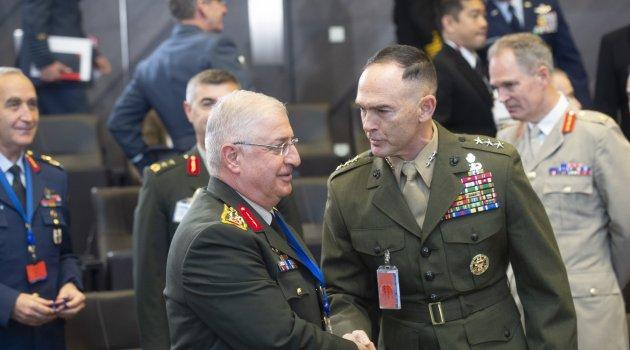 NATO Genelkurmay Başkanları Brüksel'de toplandı