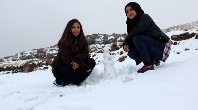 O ilde kar kalınlığı 5 cm'i buldu