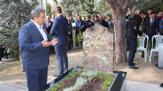 Milletvekili Fendoğlu Türkeş'i andı