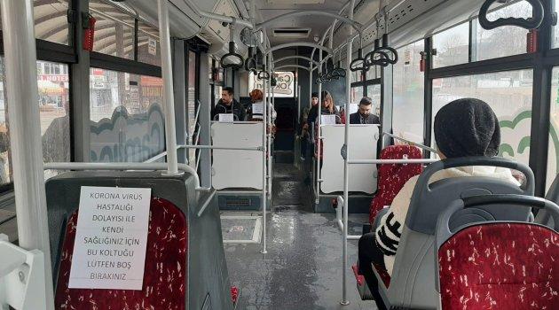 Otobüslerde korona düzenlemesi!