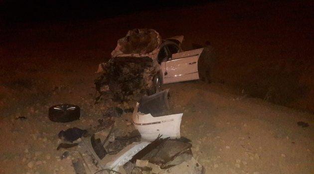 Otomobil takla attı : 1 ölü 2 yaralı