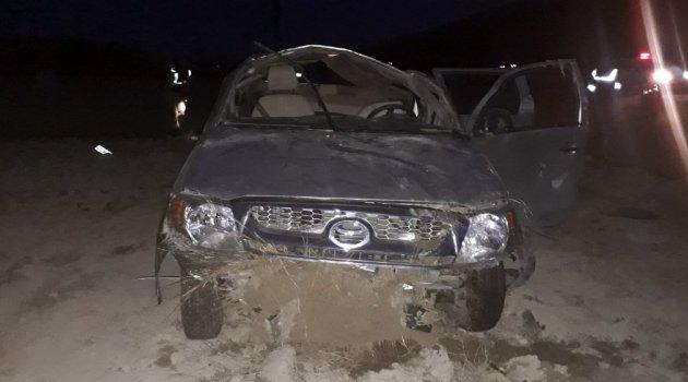 Otomobil takla attı: 1 ölü 4 yaralı
