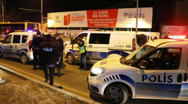 Polisi gören hırsız bagaja saklandı