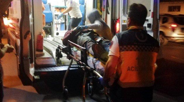 Polisten kaçarken 3. kattan düştü
