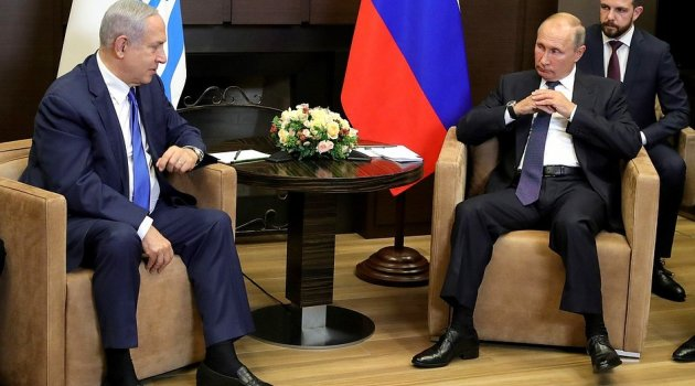 Putin Netanyahu ile görüştü