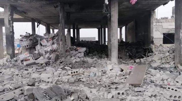 Rejim ve Rus uçakları Halep'e saldırdı: 2 ölü 5 yaralı