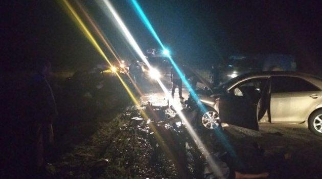Rusya'da feci kaza: 7 ölü, 2 yaralı