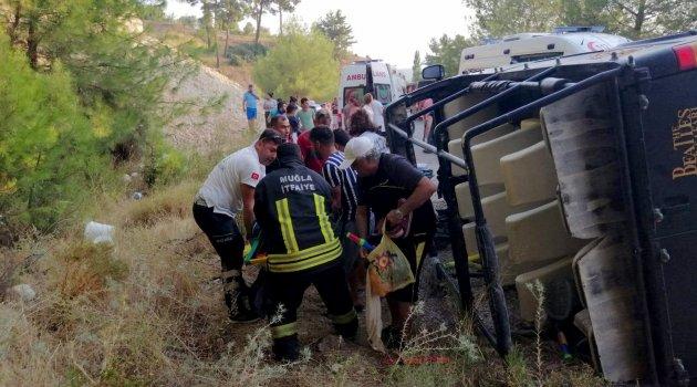 Safari cipi devrildi: 6'sı yabancı uyruklu 16 yaralı ile ilgili görsel sonucu