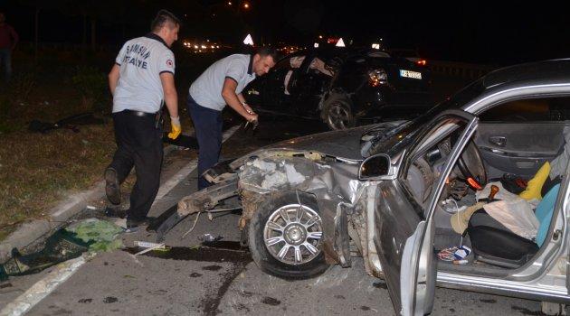 Samsun'da kaza: 1 ölü 5 yaralı