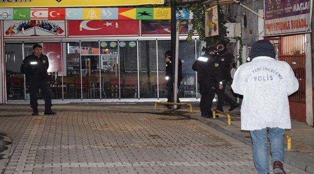 Silahla vurulan 1 kişi yaralandı