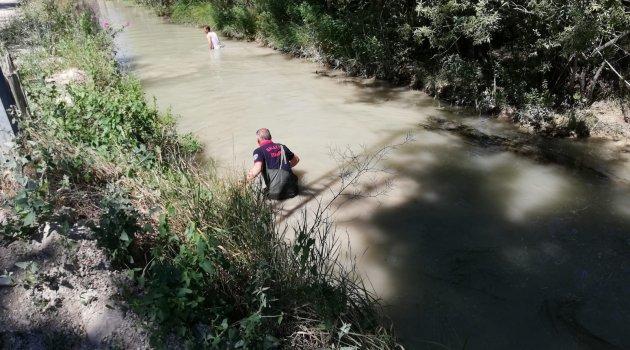 Sulama kanalına düşen iki çocuktan birisi öldü