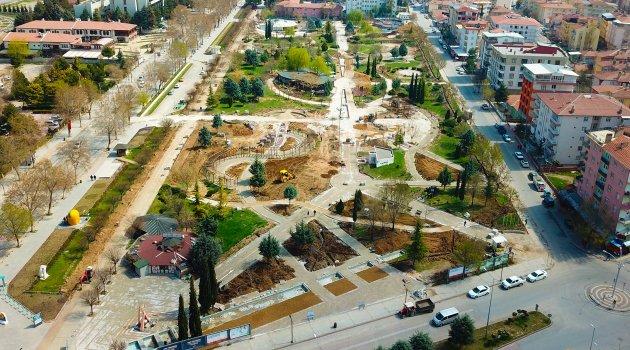 Sümer Parkta yenileneme çalışmaları