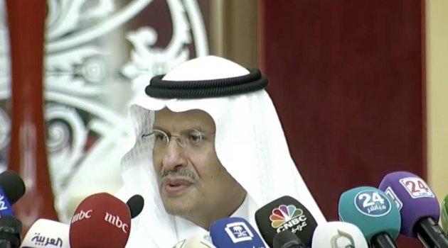 Suudi Enerji Bakanı petrol arzının normale döndüğünü açıkladı