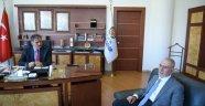 Ömer Tuğrul İnançer, Başkan Çakır'ı ziyaret etti